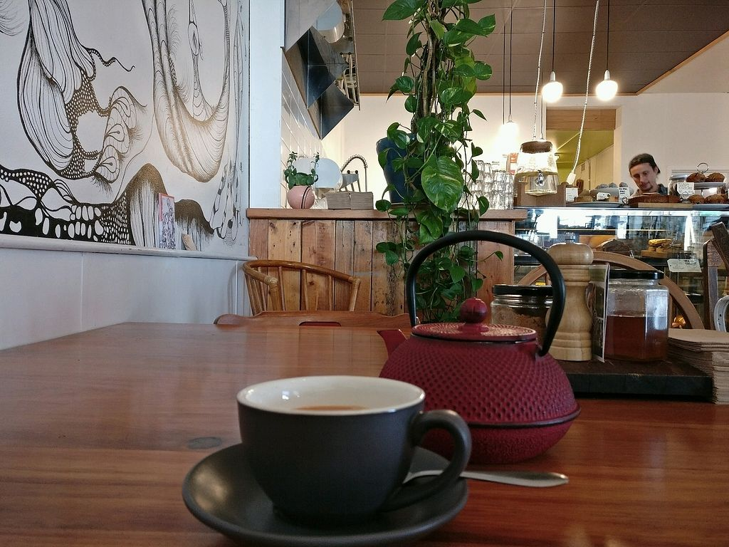 "Photo of Eka Wholefoods & Cafe  by <a href=""/members/profile/Aloo"">Aloo</a> <br/>Chai the way it's meant to be <br/> October 7, 2017  - <a href='/contact/abuse/image/61727/312535'>Report</a>"