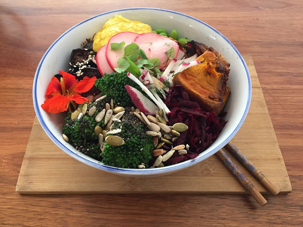 "Photo of Eka Wholefoods & Cafe  by <a href=""/members/profile/Wuji_Luiji"">Wuji_Luiji</a> <br/>Buddha protein bowl  <br/> November 15, 2017  - <a href='/contact/abuse/image/61727/325867'>Report</a>"