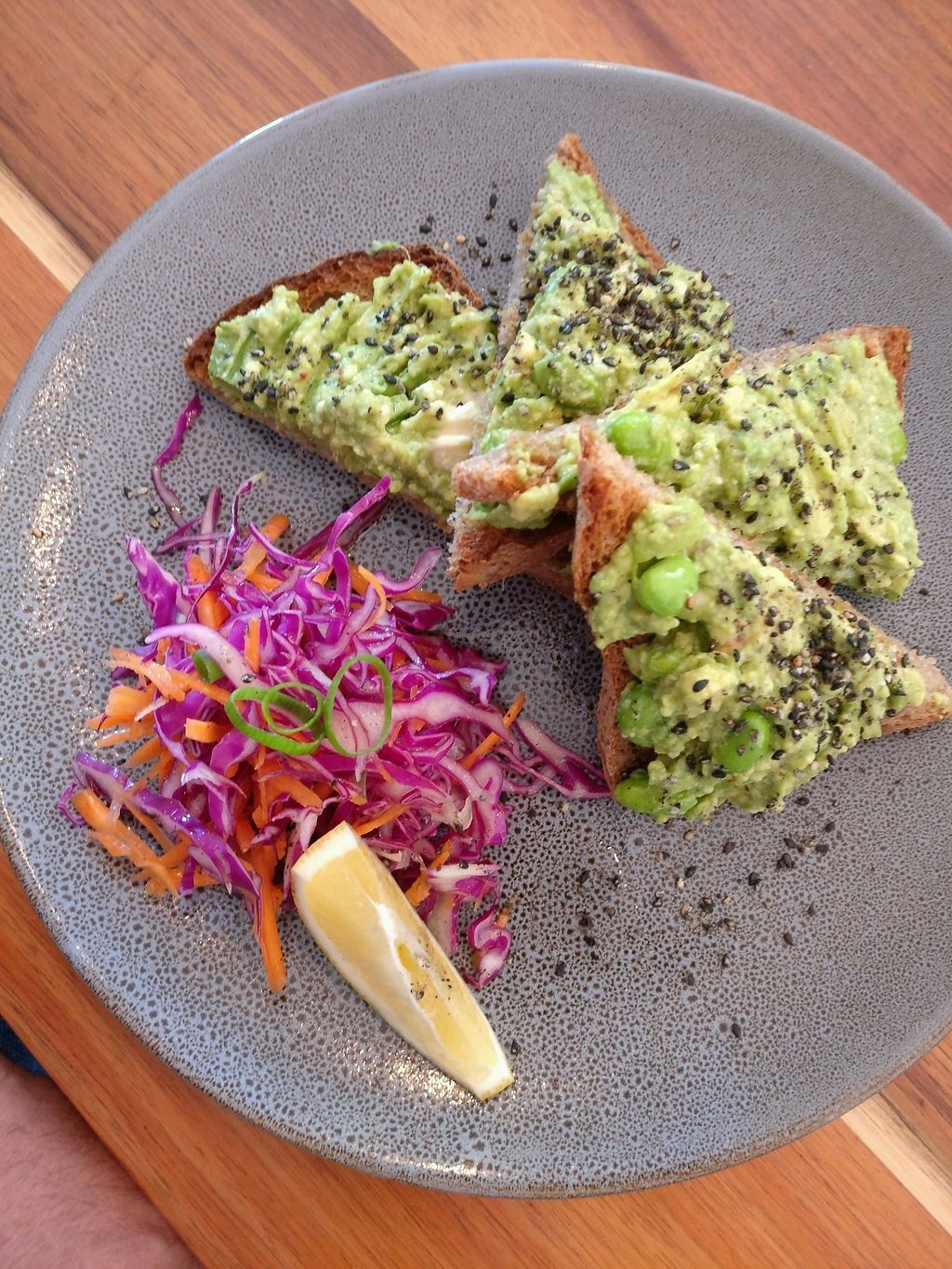 "Photo of Eka Wholefoods & Cafe  by <a href=""/members/profile/Aloo"">Aloo</a> <br/>smashed avo <br/> March 4, 2018  - <a href='/contact/abuse/image/61727/366351'>Report</a>"