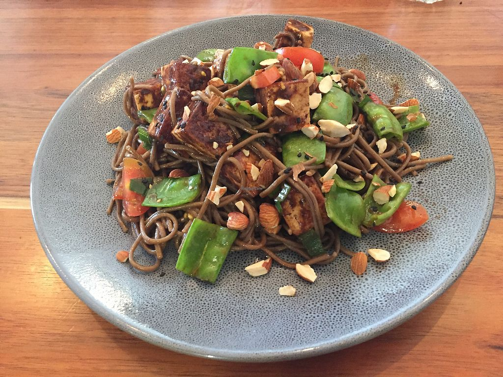 "Photo of Eka Wholefoods & Cafe  by <a href=""/members/profile/Wuji_Luiji"">Wuji_Luiji</a> <br/>Soba noodle salad <br/> April 15, 2018  - <a href='/contact/abuse/image/61727/386048'>Report</a>"