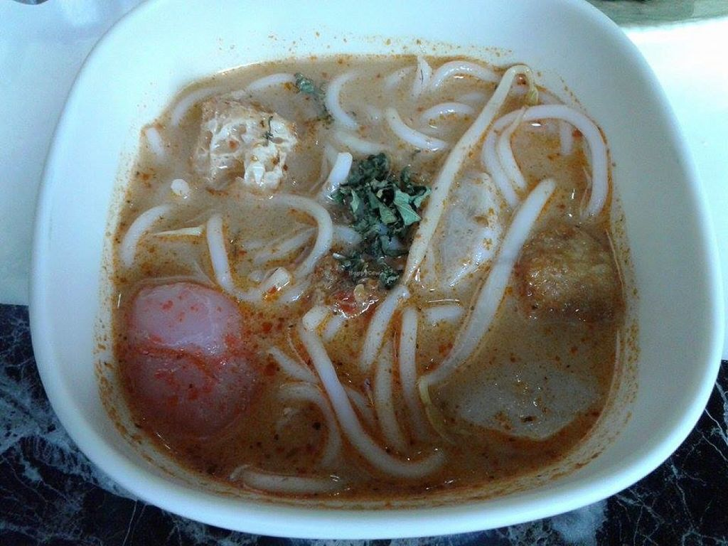 """Photo of Yummy Veggie  by <a href=""""/members/profile/sfalee"""">sfalee</a> <br/>Vegetarian Laksa <br/> June 28, 2016  - <a href='/contact/abuse/image/61775/156517'>Report</a>"""