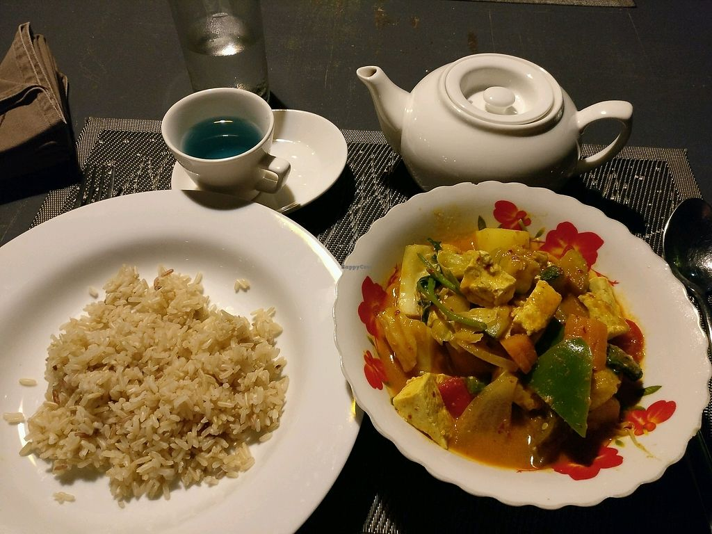 """Photo of CLOSED: Banlle Vegetarian Restaurant  by <a href=""""/members/profile/cdnvegan"""">cdnvegan</a> <br/>Vegetable curry <br/> February 14, 2018  - <a href='/contact/abuse/image/61795/359280'>Report</a>"""