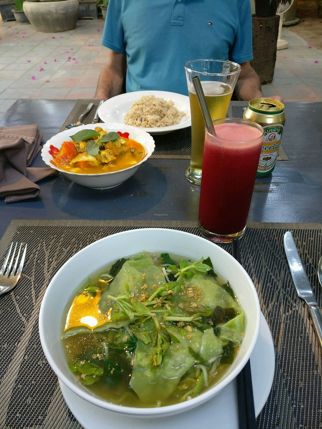 """Photo of CLOSED: Banlle Vegetarian Restaurant  by <a href=""""/members/profile/cdnvegan"""">cdnvegan</a> <br/>wonton soup <br/> February 15, 2018  - <a href='/contact/abuse/image/61795/359662'>Report</a>"""