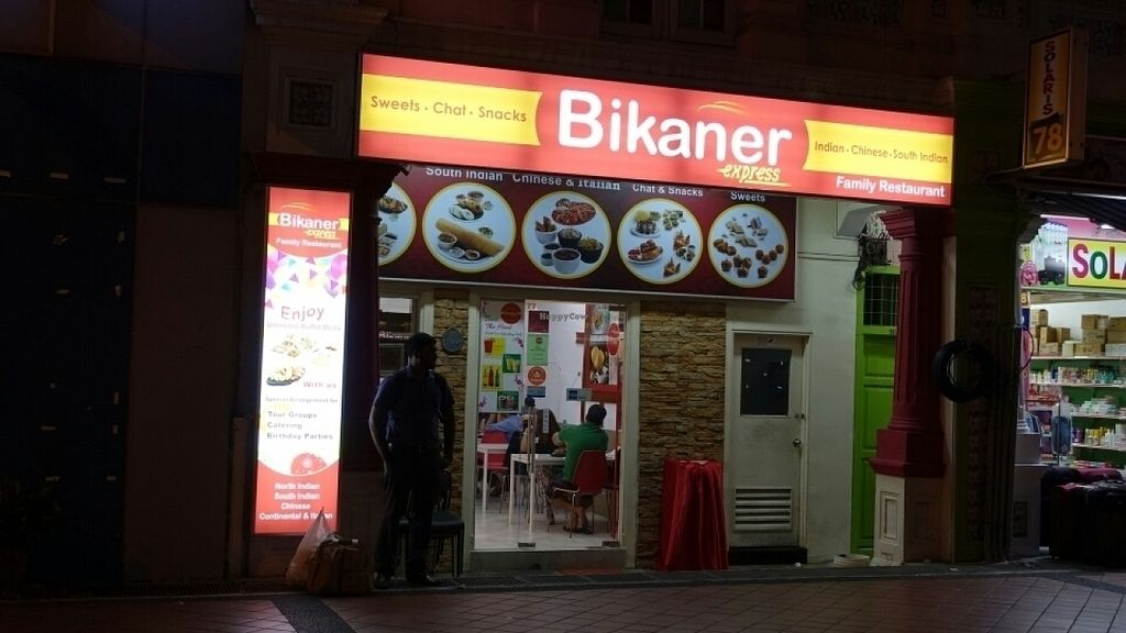 """Photo of CLOSED: Bikaner Express  by <a href=""""/members/profile/JimmySeah"""">JimmySeah</a> <br/>restaurant exterior  <br/> July 17, 2016  - <a href='/contact/abuse/image/61832/160543'>Report</a>"""