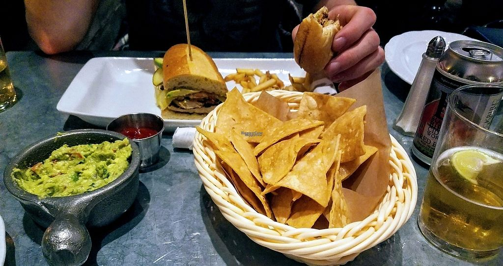 """Photo of Bar Bombon  by <a href=""""/members/profile/aimeelynn"""">aimeelynn</a> <br/>Cubano Club and Guacamole Picante <br/> April 19, 2017  - <a href='/contact/abuse/image/61877/250018'>Report</a>"""