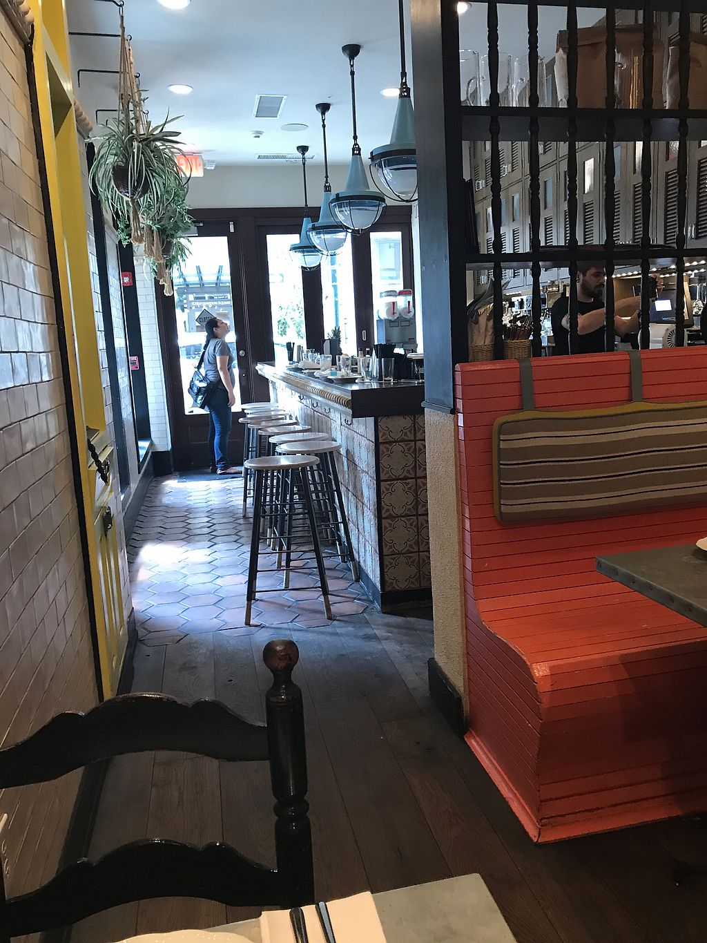 """Photo of Bar Bombon  by <a href=""""/members/profile/gemmafee"""">gemmafee</a> <br/>restaurant seating <br/> July 20, 2017  - <a href='/contact/abuse/image/61877/282348'>Report</a>"""