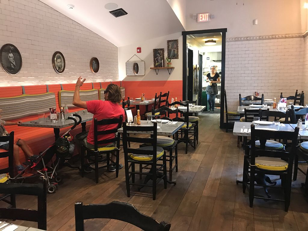 """Photo of Bar Bombon  by <a href=""""/members/profile/gemmafee"""">gemmafee</a> <br/>restaurant seating <br/> July 20, 2017  - <a href='/contact/abuse/image/61877/282349'>Report</a>"""