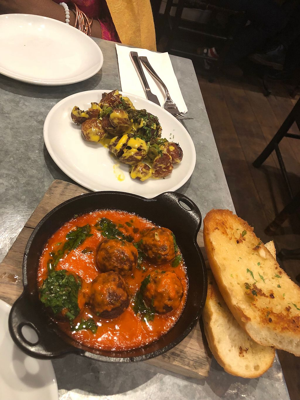 """Photo of Bar Bombon  by <a href=""""/members/profile/NylaDaniel"""">NylaDaniel</a> <br/>Spanish meatballs  <br/> March 24, 2018  - <a href='/contact/abuse/image/61877/375502'>Report</a>"""