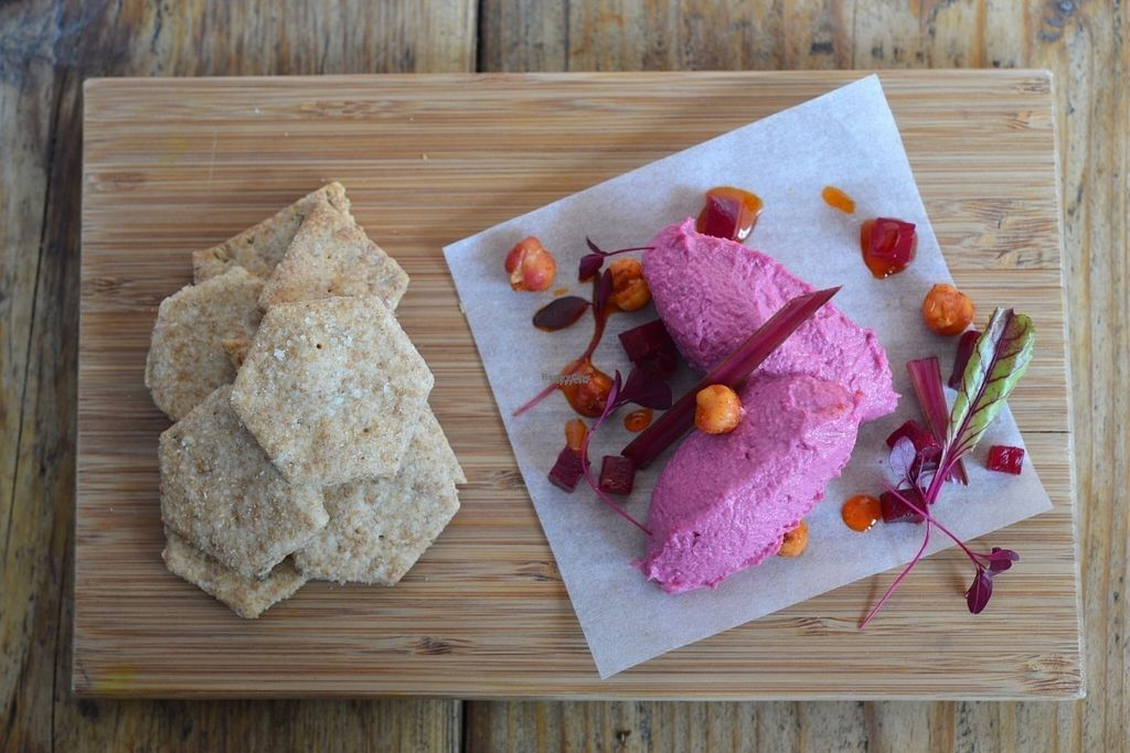 "Photo of Flow  by <a href=""/members/profile/FlowBristol"">FlowBristol</a> <br/>Salt baked beetroot humus <br/> September 22, 2016  - <a href='/contact/abuse/image/61894/177307'>Report</a>"