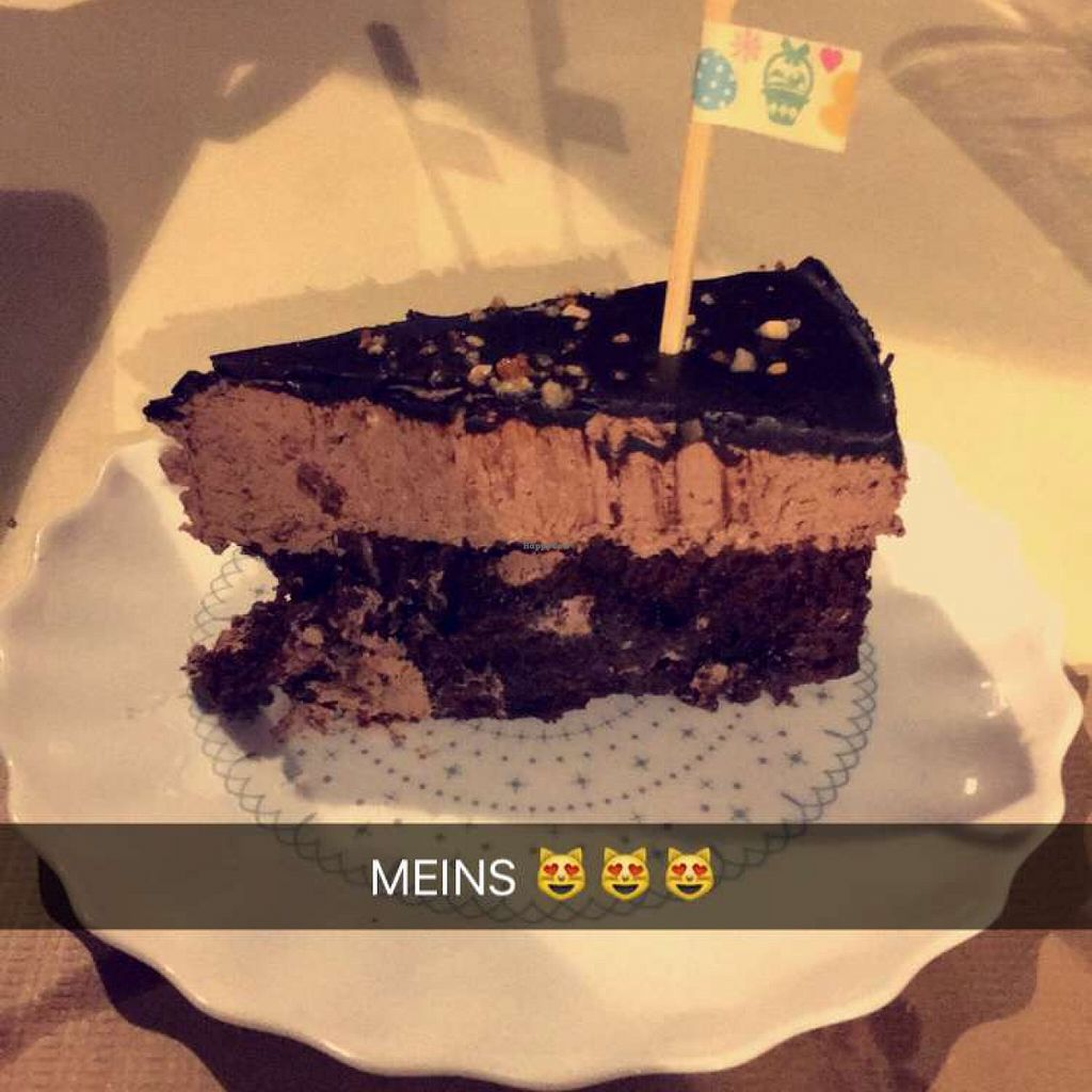 """Photo of La Libelula Vegan Cafe  by <a href=""""/members/profile/Lara.Sailer"""">Lara.Sailer</a> <br/>chocolate cake to die for  <br/> May 25, 2016  - <a href='/contact/abuse/image/61896/150716'>Report</a>"""