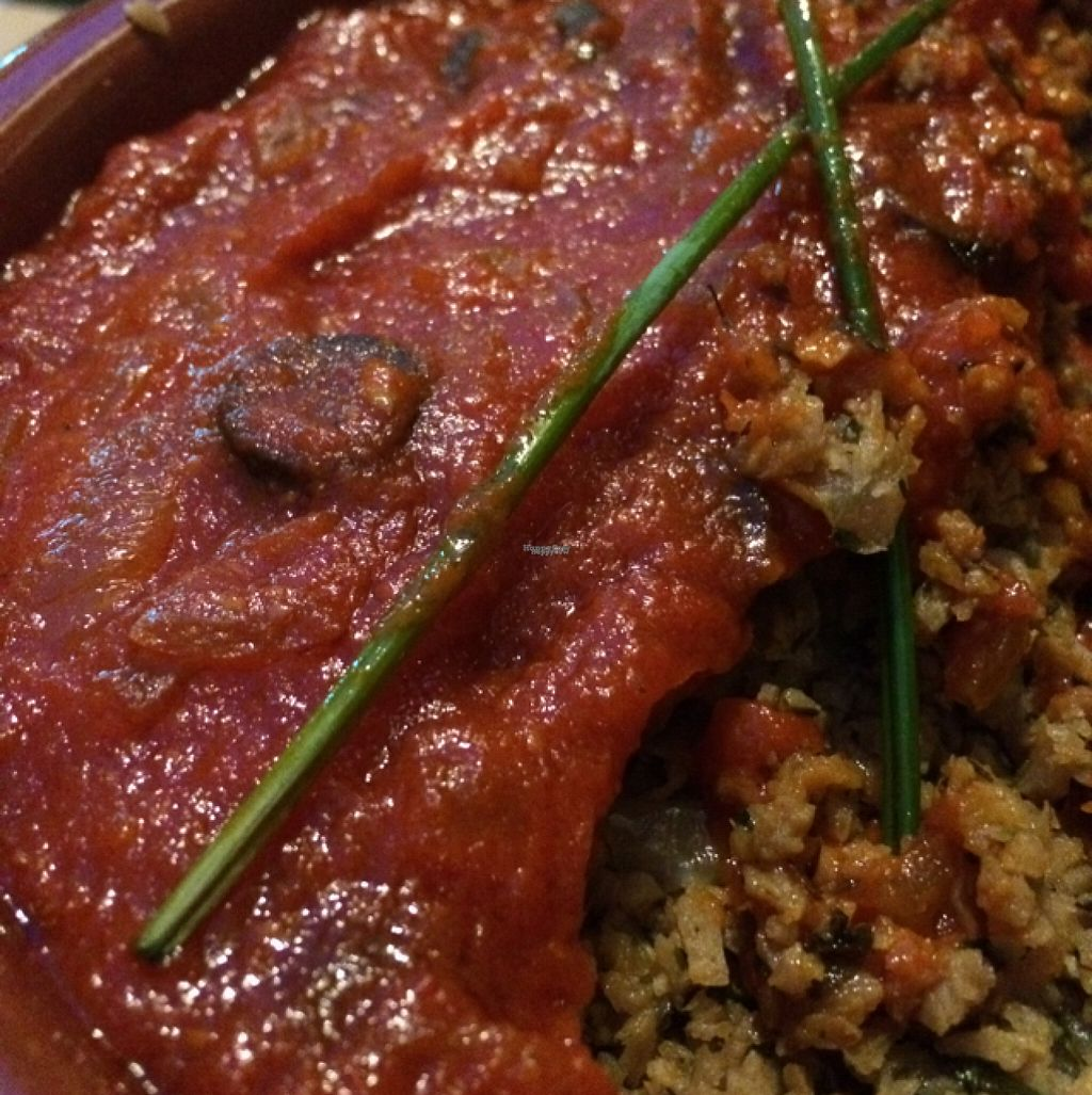 """Photo of La Libelula Vegan Cafe  by <a href=""""/members/profile/LimpisArnBerg"""">LimpisArnBerg</a> <br/>vegan moussaka  <br/> August 17, 2016  - <a href='/contact/abuse/image/61896/169555'>Report</a>"""