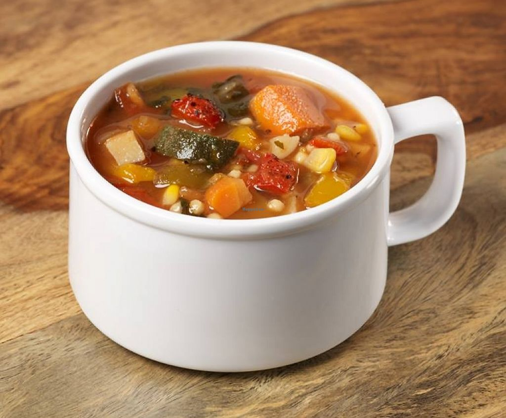 """Photo of McAlister's Deli  by <a href=""""/members/profile/community"""">community</a> <br/>Fire Roasted Vegetable Soup <br/> August 24, 2015  - <a href='/contact/abuse/image/61976/199828'>Report</a>"""