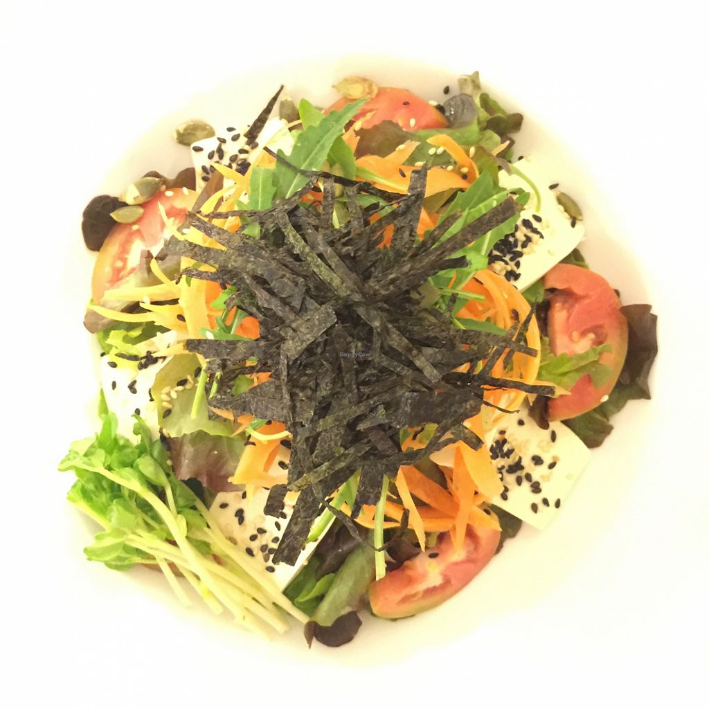 """Photo of CLOSED: Veggie Bean  by <a href=""""/members/profile/earthville"""">earthville</a> <br/>tofu sesame salad <br/> December 10, 2015  - <a href='/contact/abuse/image/61979/127777'>Report</a>"""