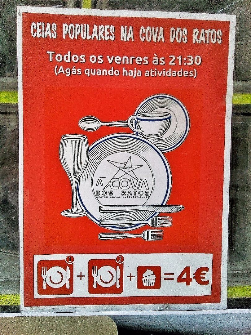 """Photo of A Cova Dos Ratos  by <a href=""""/members/profile/Anticopy"""">Anticopy</a> <br/>Cheap meals for working class <br/> June 15, 2017  - <a href='/contact/abuse/image/61983/269481'>Report</a>"""