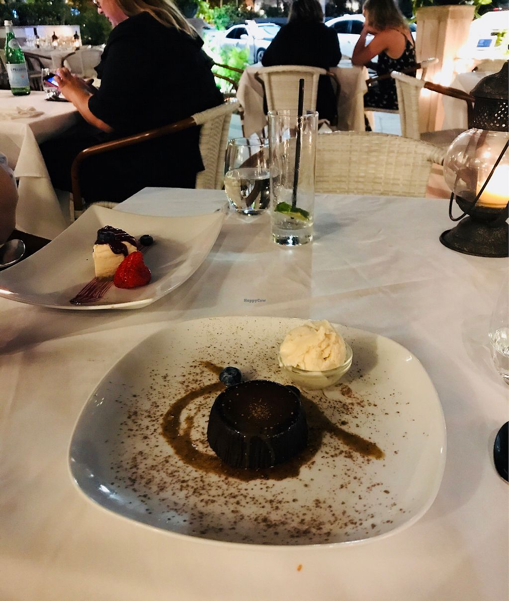 "Photo of Full Bloom  by <a href=""/members/profile/saracs"">saracs</a> <br/>Cheesecake with berries and caramel chocolate lava cake with gelato <br/> January 30, 2018  - <a href='/contact/abuse/image/61993/352568'>Report</a>"