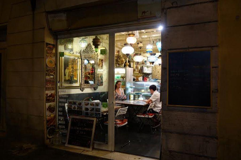 """Photo of La Via Della Seta  by <a href=""""/members/profile/Lesley%20Anne%20Jeavons"""">Lesley Anne Jeavons</a> <br/>La Via Della Seta Rome from outside <br/> August 14, 2015  - <a href='/contact/abuse/image/62004/113587'>Report</a>"""