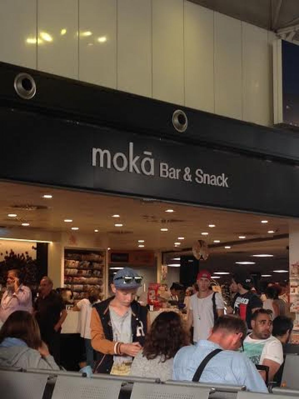 "Photo of Moka Bar and Snack  by <a href=""/members/profile/Lesley%20Anne%20Jeavons"">Lesley Anne Jeavons</a> <br/>Moka at Rome Airport <br/> August 14, 2015  - <a href='/contact/abuse/image/62009/113590'>Report</a>"