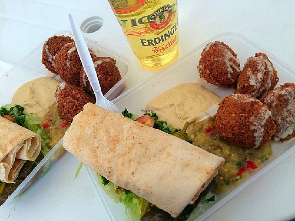 """Photo of Falafel   by <a href=""""/members/profile/CiaraSlevin"""">CiaraSlevin</a> <br/>From the Falafel stall at Belfast VEGSTOCK 2016 <br/> August 22, 2016  - <a href='/contact/abuse/image/62049/170839'>Report</a>"""