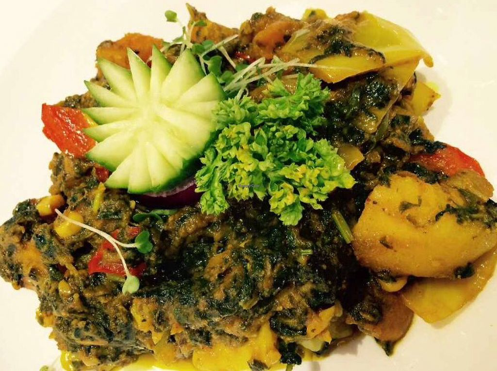 """Photo of The Naz  by <a href=""""/members/profile/CiaraSlevin"""">CiaraSlevin</a> <br/>Vegetable palak main <br/> August 16, 2015  - <a href='/contact/abuse/image/62065/240272'>Report</a>"""