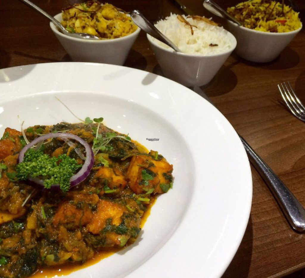 """Photo of The Naz  by <a href=""""/members/profile/CiaraSlevin"""">CiaraSlevin</a> <br/>saag aloo with paneer (Vegetarian) <br/> August 23, 2016  - <a href='/contact/abuse/image/62065/240273'>Report</a>"""