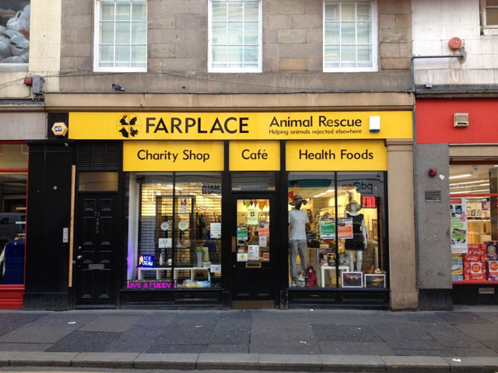 """Photo of Farplace Vegan Store  by <a href=""""/members/profile/hack_man"""">hack_man</a> <br/>Outside <br/> October 20, 2015  - <a href='/contact/abuse/image/62070/121909'>Report</a>"""