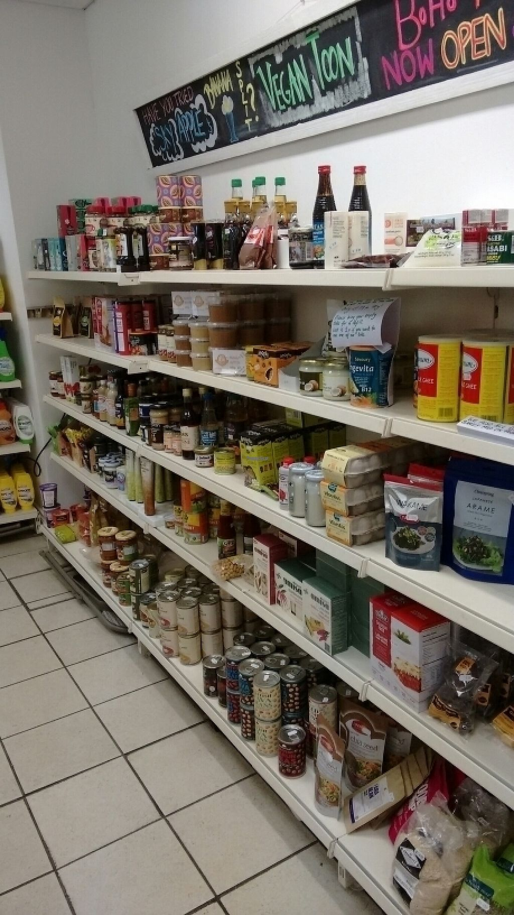 """Photo of Farplace Vegan Store  by <a href=""""/members/profile/craigmc"""">craigmc</a> <br/>plenty of Goodie's <br/> December 9, 2016  - <a href='/contact/abuse/image/62070/198486'>Report</a>"""