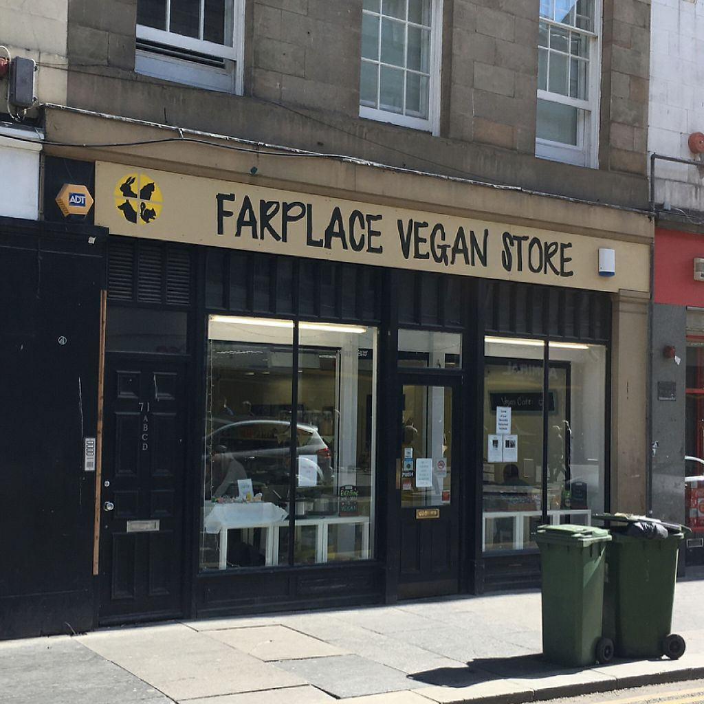 """Photo of Farplace Vegan Store  by <a href=""""/members/profile/hack_man"""">hack_man</a> <br/>new signage 2017 <br/> April 15, 2017  - <a href='/contact/abuse/image/62070/248345'>Report</a>"""