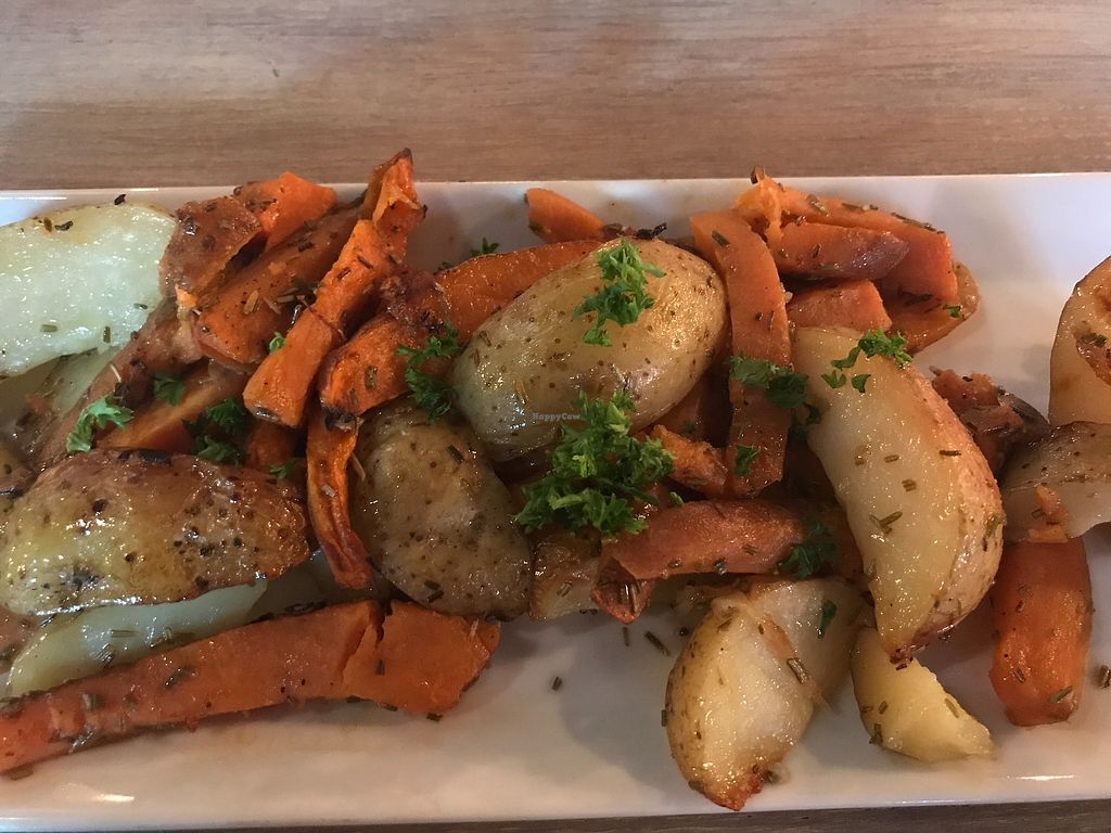 """Photo of Sostrene Fryd  by <a href=""""/members/profile/Jessica-Chickpea"""">Jessica-Chickpea</a> <br/>Roasted potato & carrot with rosemary  <br/> September 4, 2017  - <a href='/contact/abuse/image/62082/300880'>Report</a>"""