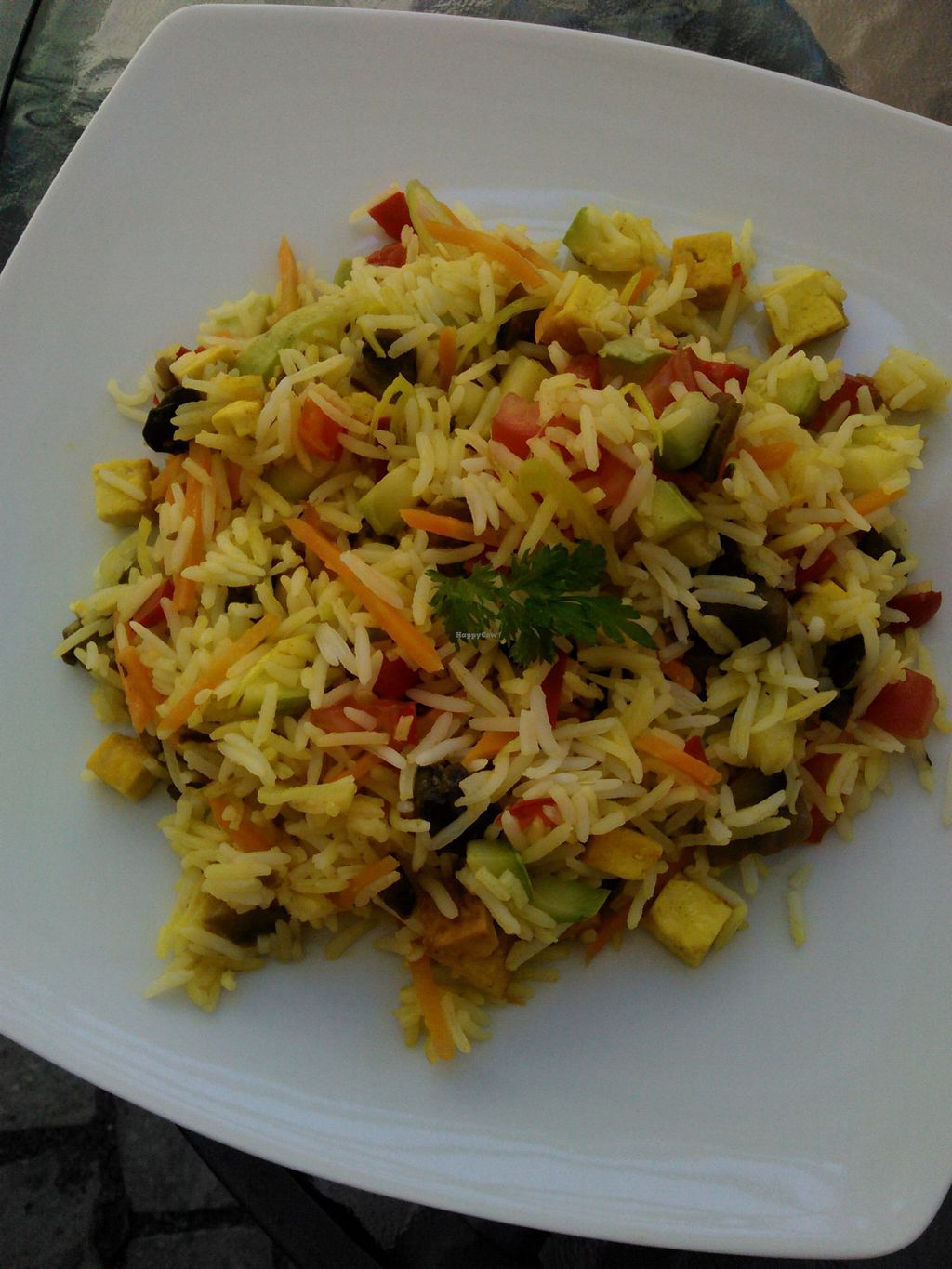"""Photo of BIOFresh  by <a href=""""/members/profile/alexandra_vegan"""">alexandra_vegan</a> <br/>Basmati rice with tofu. My all time favorite, this is the dish I order most often <br/> March 7, 2016  - <a href='/contact/abuse/image/62092/139206'>Report</a>"""