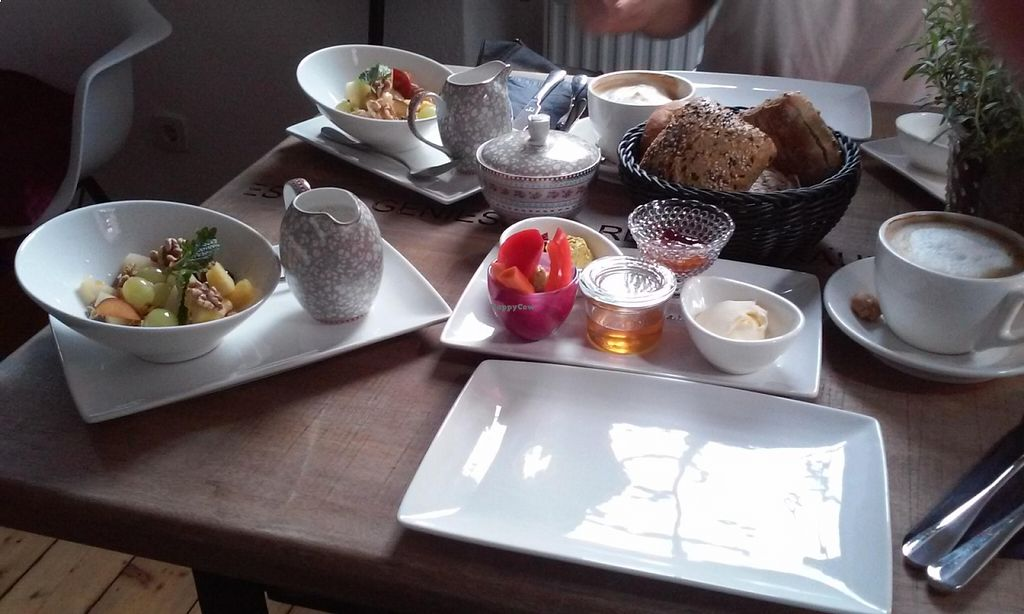"Photo of Cafe Luise  by <a href=""/members/profile/laurencet"">laurencet</a> <br/>Vegan breakfast at Café Luise <br/> August 18, 2015  - <a href='/contact/abuse/image/62108/114065'>Report</a>"