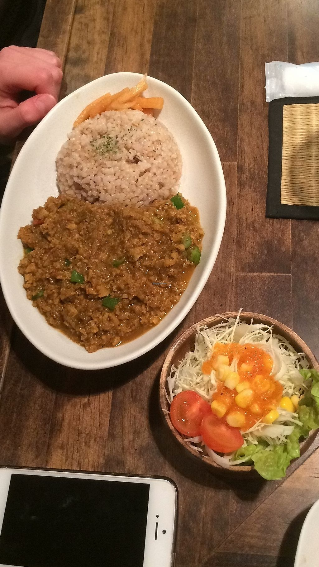 """Photo of VegReca  by <a href=""""/members/profile/Hans"""">Hans</a> <br/>Curry indian style <br/> February 18, 2018  - <a href='/contact/abuse/image/62110/360885'>Report</a>"""