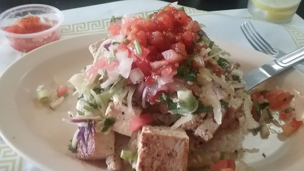 "Photo of KoMex Express  by <a href=""/members/profile/KG1"">KG1</a> <br/>The fusion tostada was fabulous! <br/> February 24, 2017  - <a href='/contact/abuse/image/62119/229833'>Report</a>"