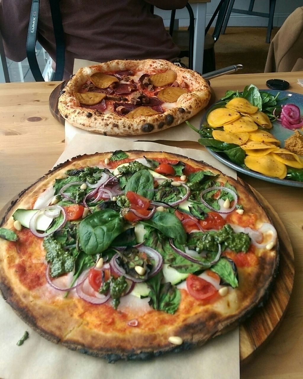 "Photo of Purezza  by <a href=""/members/profile/Melissaj1990"">Melissaj1990</a> <br/>Gluten free pizza <br/> January 1, 2017  - <a href='/contact/abuse/image/62124/206953'>Report</a>"