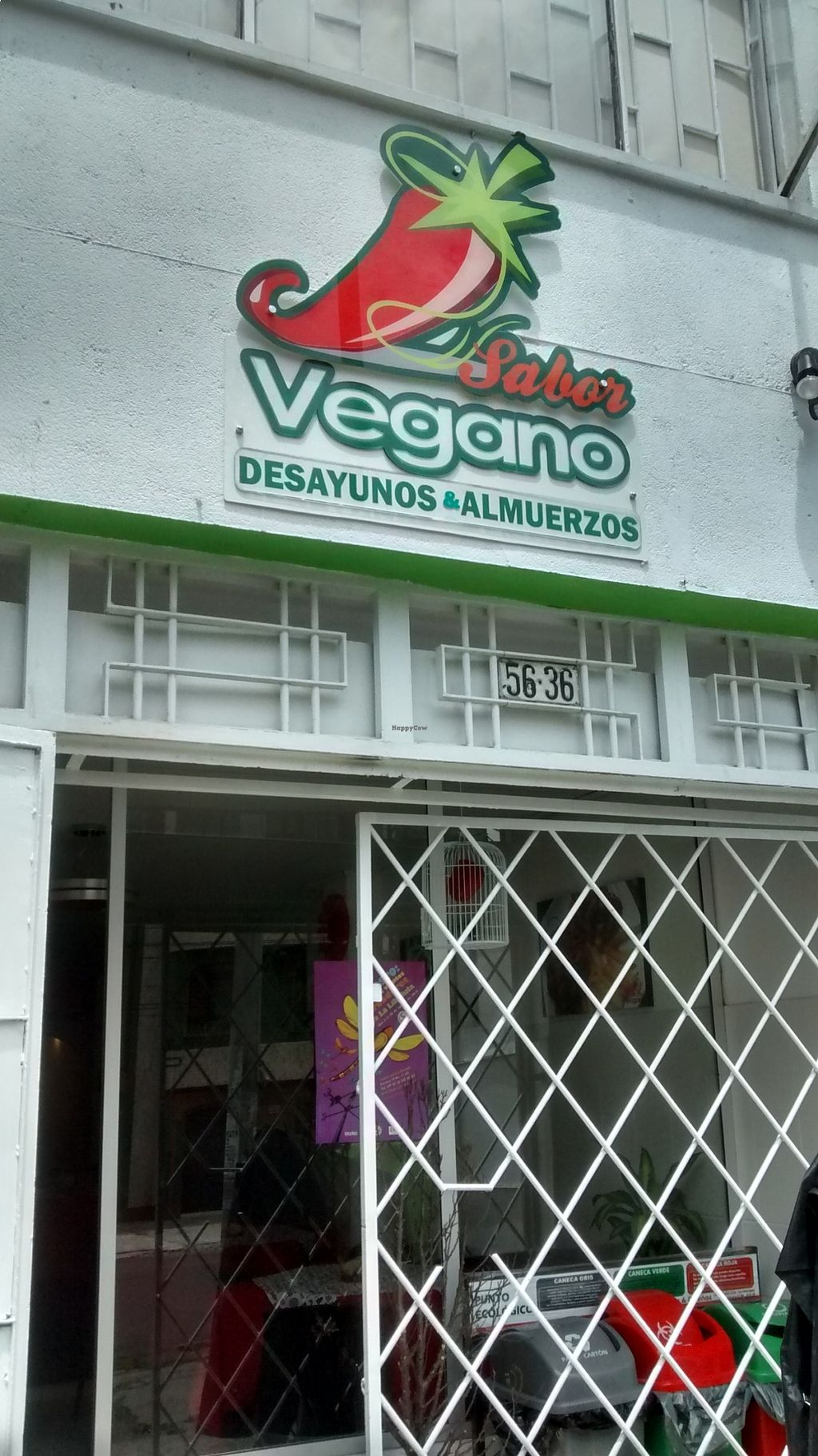 """Photo of Sabor Vegano  by <a href=""""/members/profile/AngieQuijanoVeggie"""">AngieQuijanoVeggie</a> <br/>The place! <br/> August 21, 2015  - <a href='/contact/abuse/image/62130/114604'>Report</a>"""
