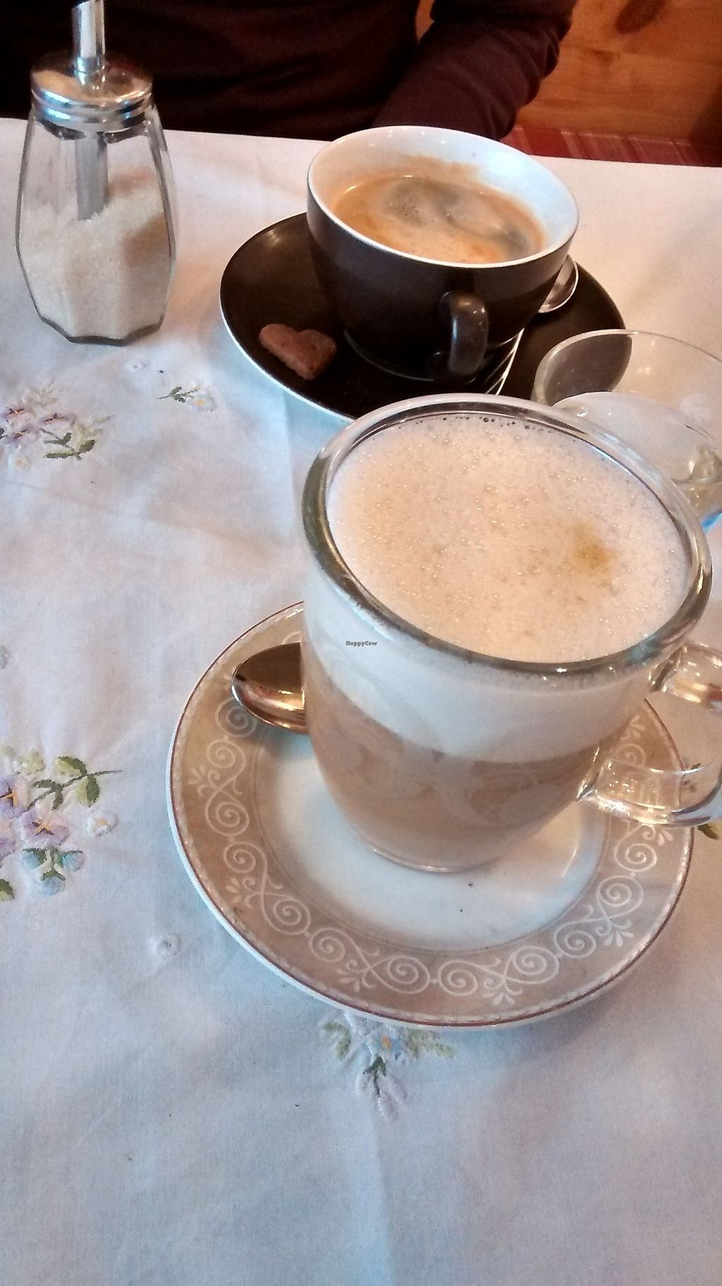 """Photo of Bio Cafe Baumgarten  by <a href=""""/members/profile/SaraC."""">SaraC.</a> <br/>Spicy coffee with oat milk <br/> February 23, 2018  - <a href='/contact/abuse/image/62147/362721'>Report</a>"""