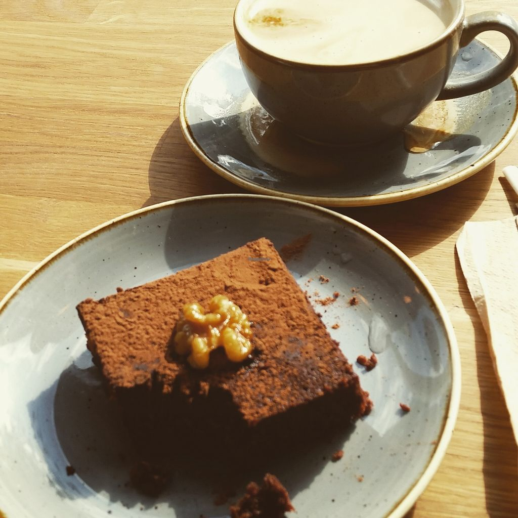 """Photo of Chia Naturally Healthy  by <a href=""""/members/profile/LukeRockall"""">LukeRockall</a> <br/>Vegan brownie  <br/> September 10, 2015  - <a href='/contact/abuse/image/62206/117234'>Report</a>"""