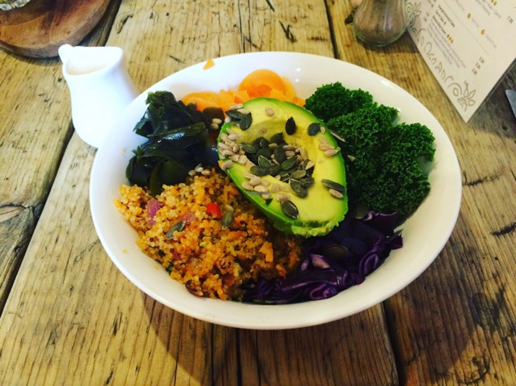 """Photo of Chia Naturally Healthy  by <a href=""""/members/profile/Xxlauraann"""">Xxlauraann</a> <br/>Buddha bowl <br/> February 4, 2016  - <a href='/contact/abuse/image/62206/134963'>Report</a>"""