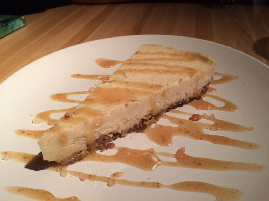 """Photo of The Cider Press Cafe   by <a href=""""/members/profile/ericasager"""">ericasager</a> <br/>salted caramel cheese cake  <br/> September 20, 2015  - <a href='/contact/abuse/image/62213/118471'>Report</a>"""