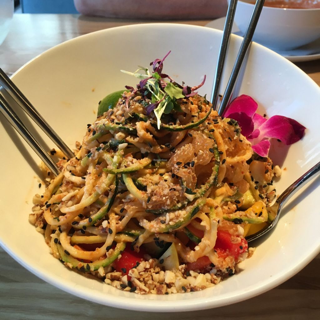 """Photo of The Cider Press Cafe   by <a href=""""/members/profile/HollisCato"""">HollisCato</a> <br/>Pad Thai <br/> April 2, 2016  - <a href='/contact/abuse/image/62213/142350'>Report</a>"""