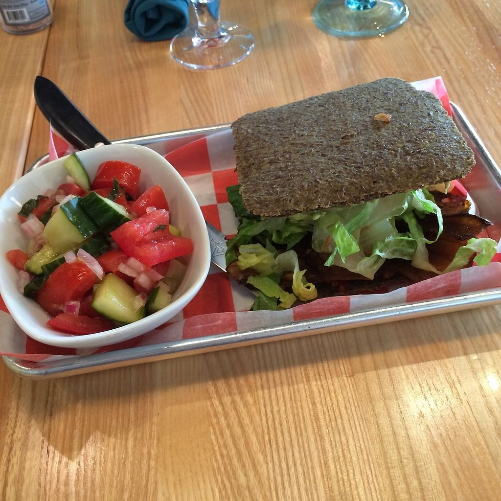 """Photo of The Cider Press Cafe   by <a href=""""/members/profile/KatieBush"""">KatieBush</a> <br/>raw sandwich <br/> September 25, 2017  - <a href='/contact/abuse/image/62213/308267'>Report</a>"""