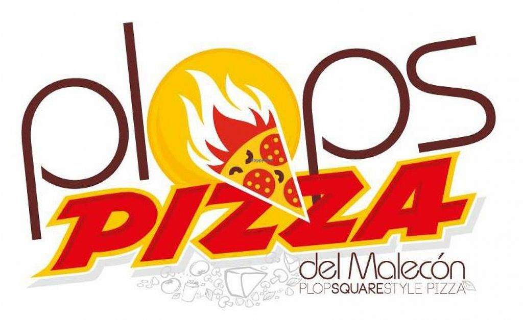 """Photo of Plop's Pizza  by <a href=""""/members/profile/community"""">community</a> <br/> Plop's Pizza Logo  <br/> September 1, 2015  - <a href='/contact/abuse/image/62222/116118'>Report</a>"""
