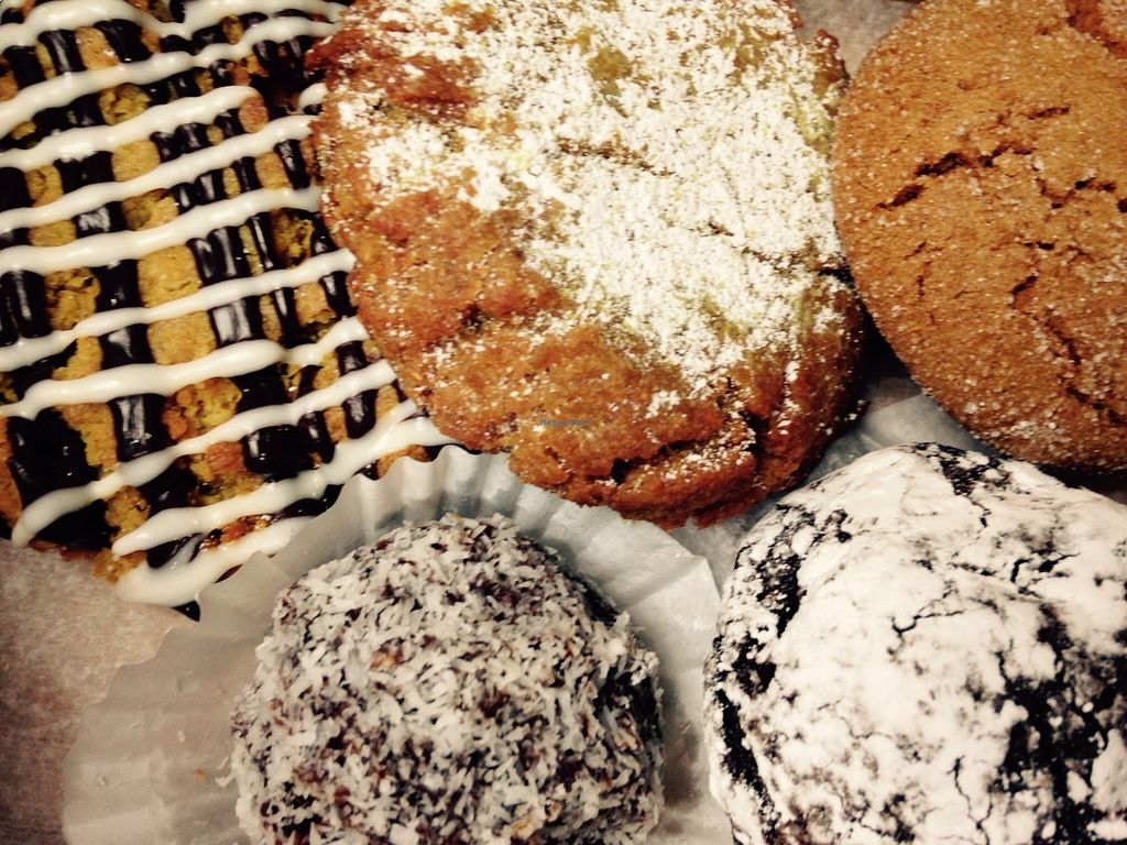 """Photo of Bam Bam Bakery  by <a href=""""/members/profile/cookiem"""">cookiem</a> <br/>Oh vegan gluten-free goodies! <br/> August 19, 2015  - <a href='/contact/abuse/image/62226/114288'>Report</a>"""