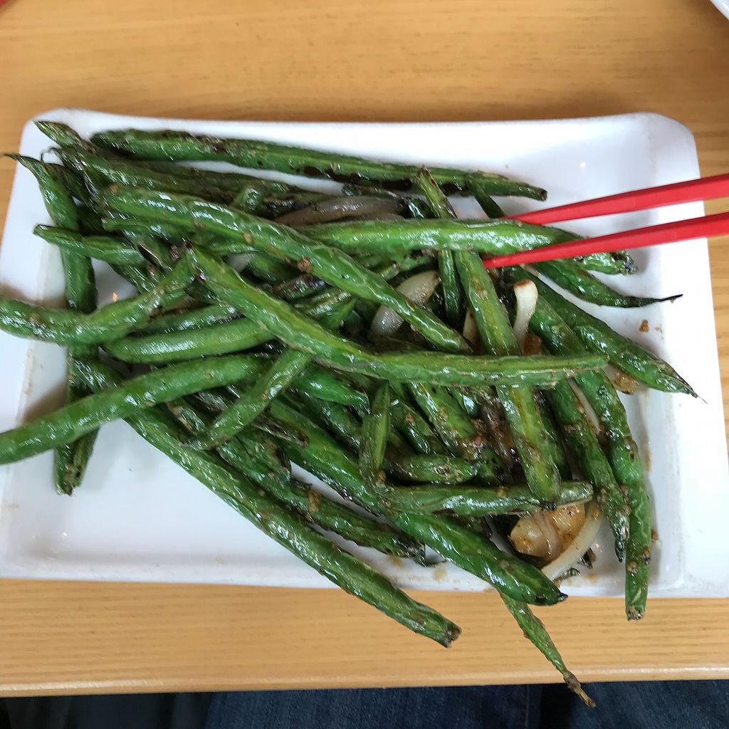 """Photo of Empire Chinese Kitchen  by <a href=""""/members/profile/Sarah%20P"""">Sarah P</a> <br/>Garlic green beans <br/> April 19, 2018  - <a href='/contact/abuse/image/62227/388297'>Report</a>"""