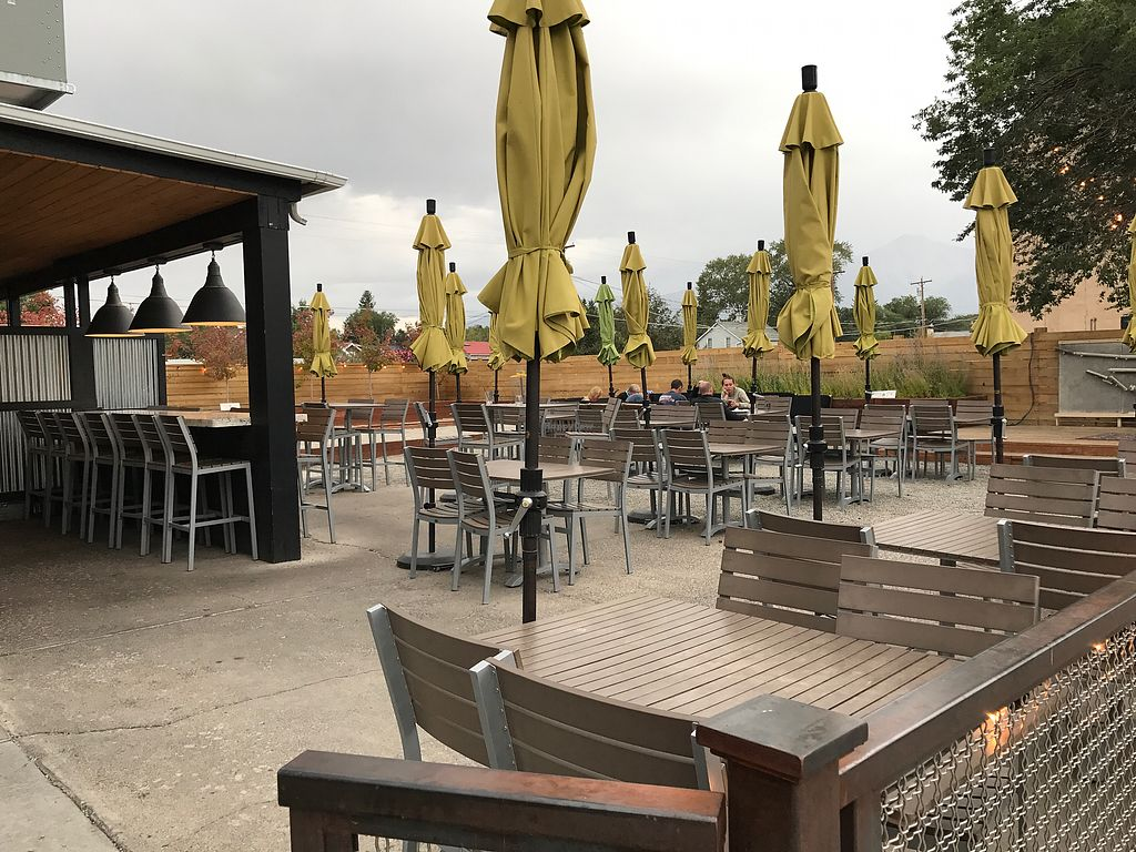 """Photo of House Rock Kitchen  by <a href=""""/members/profile/JenTL"""">JenTL</a> <br/>Patio seating <br/> September 11, 2017  - <a href='/contact/abuse/image/62242/303167'>Report</a>"""