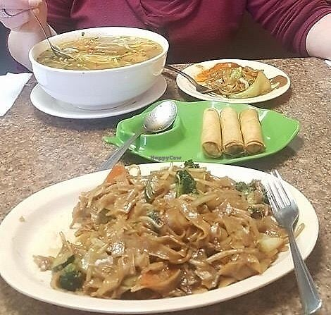 "Photo of Pho Vegan Asian Cuisine  by <a href=""/members/profile/LeslieStilwellFeeney"">LeslieStilwellFeeney</a> <br/>Delicous food! <br/> April 3, 2018  - <a href='/contact/abuse/image/62245/380275'>Report</a>"