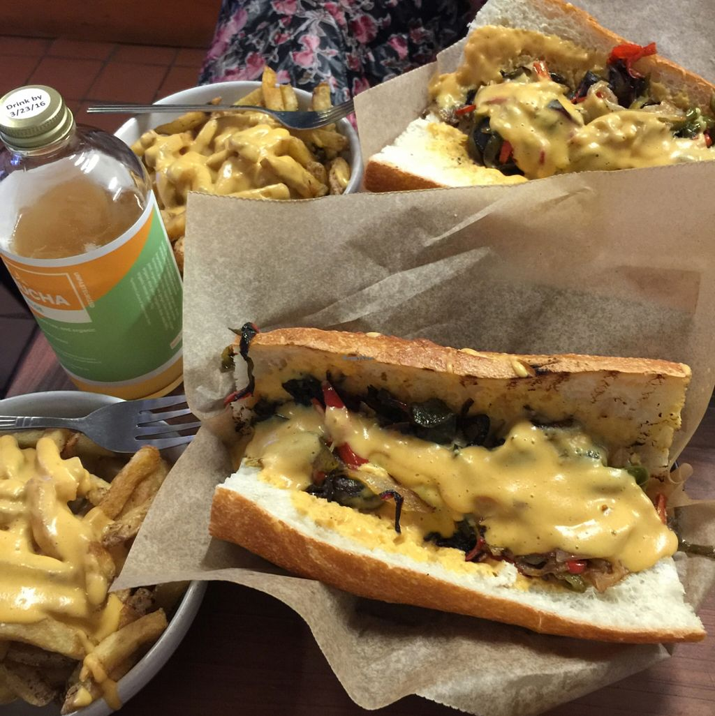 """Photo of Toad Style  by <a href=""""/members/profile/Carlyjeg"""">Carlyjeg</a> <br/>delicious philly cheese steaks <br/> January 24, 2016  - <a href='/contact/abuse/image/62246/133545'>Report</a>"""