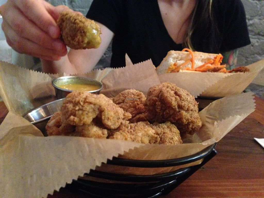 """Photo of Toad Style  by <a href=""""/members/profile/jdfunks"""">jdfunks</a> <br/>fried cauliflower + honey mustard  <br/> June 19, 2016  - <a href='/contact/abuse/image/62246/154906'>Report</a>"""