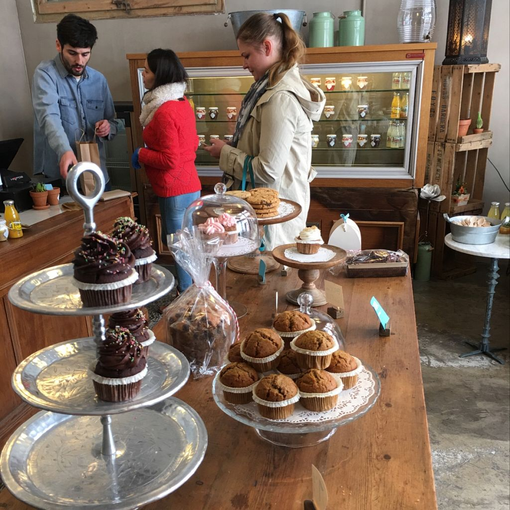 """Photo of La Besneta  by <a href=""""/members/profile/KylieJ"""">KylieJ</a> <br/>delicious vegan bakery!!! <br/> February 27, 2016  - <a href='/contact/abuse/image/62257/137924'>Report</a>"""