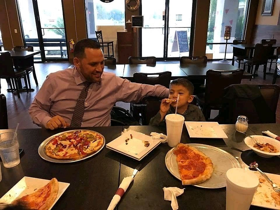 "Photo of KC Artisan Pizza  by <a href=""/members/profile/JenGonz%C3%A1lez"">JenGonzález</a> <br/>Somebody is happy with his pizza❣? <br/> September 4, 2017  - <a href='/contact/abuse/image/62285/300732'>Report</a>"