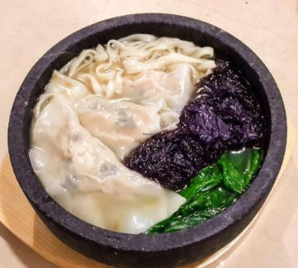 "Photo of Vege Coffee  by <a href=""/members/profile/community"">community</a> <br/>spinach dumpling soup  <br/> August 27, 2015  - <a href='/contact/abuse/image/62299/115452'>Report</a>"
